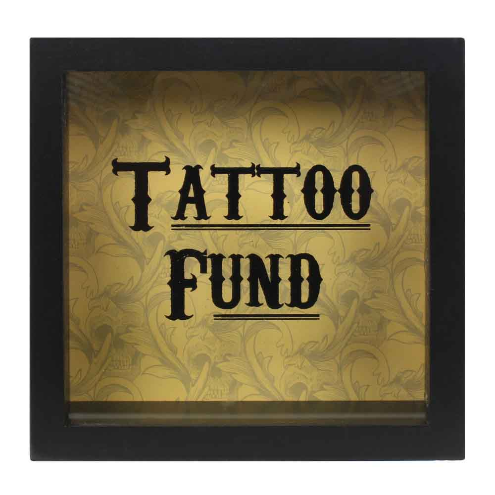 Cabinet Of Curiosities Tattoo Fund Money Box