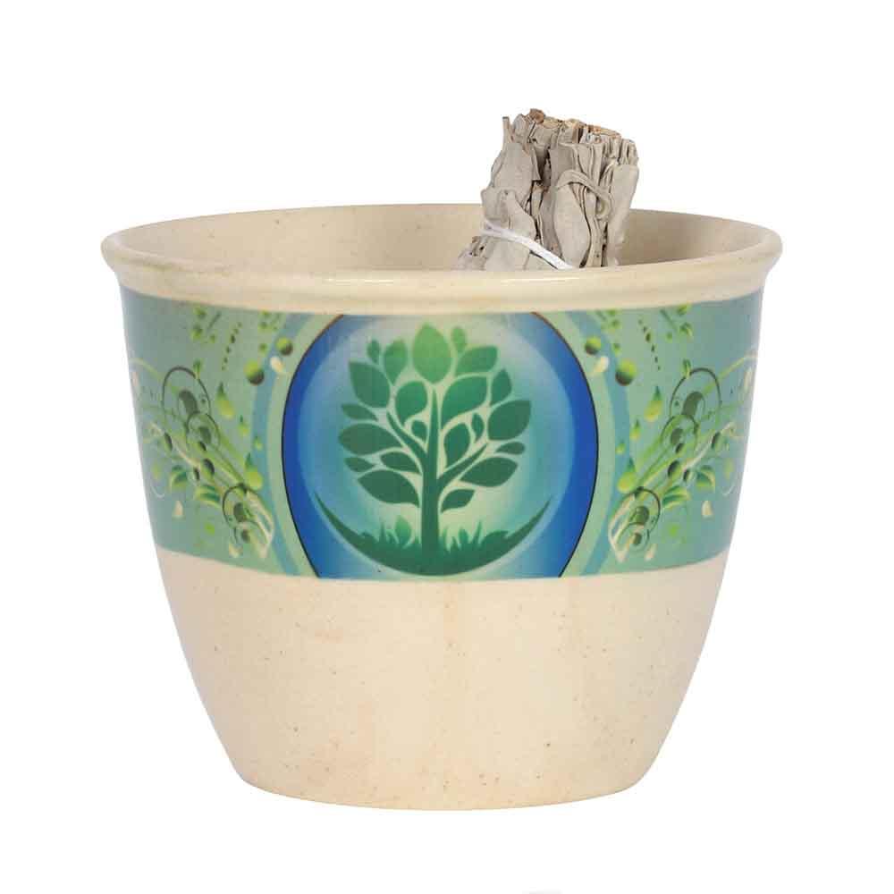 12.5cm Tree of Life Smudge Bowl