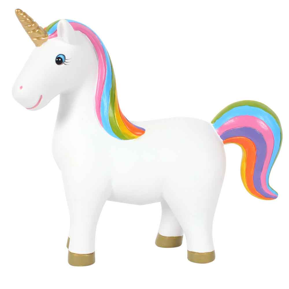 Rainbow Unicorn Ornament Pose 2